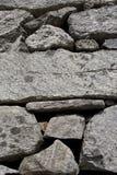 естественная каменная стена Стоковое фото RF