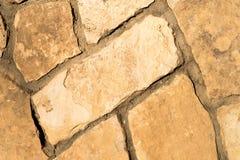 Естественная каменная текстура пола Стоковая Фотография