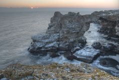 Естественная каменная дуга Стоковое Изображение RF