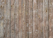 Естественная коричневая стена древесины амбара Картина предпосылки текстуры стены Стоковое Изображение