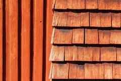 Естественная красная деревянная текстура Стоковое Изображение RF