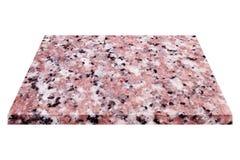 естественная мраморная плита изолированная на белизне Стоковые Изображения