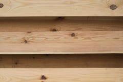 Естественная предпосылка деревянных горизонтальных предкрылков Стоковое Изображение RF