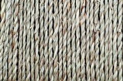 Естественная предпосылка, корзина сплетенной веревочки волокна стоковые изображения rf