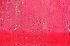 Естественная предпосылка металла с ржавчиной и старой краской трескает Стоковая Фотография