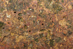 Естественная предпосылка пола песчаника утеса Стоковое Фото