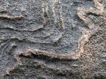 Естественная серая каменная поверхностная текстура Стоковое Фото