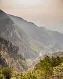 естественная сценарная гора Стоковые Фото