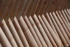 Естественная текстура деревянных панелей стоковые изображения