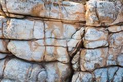 Естественная текстура камня моря Стоковые Фото