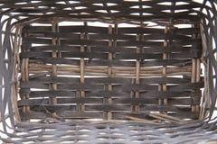 Естественная текстура корзины Стоковое Фото