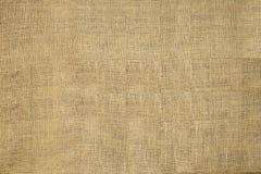 Естественная текстурированная текстура мешка горизонтальной дерюги мешковины Grunge гессенская, Grungy винтажный холст Стоковое фото RF