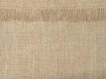 Естественная linen картина текстуры с краем абстрактная предпосылка стоковая фотография rf