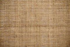 Естественная linen текстура для предпосылки Стоковая Фотография