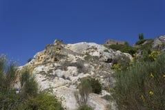 Естественное горячее springof Bagno Vignoni стоковые фото