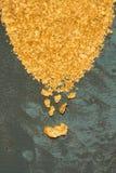 Естественное золото Placer стоковое фото