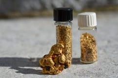 Естественное золото Стоковое фото RF