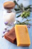 естественное мыло Стоковое Изображение RF