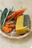 естественное мыло с травами Стоковая Фотография