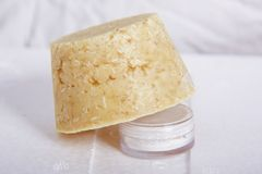 Естественное мыло Стоковые Изображения RF
