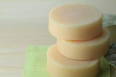 естественное мыло Стоковые Фото