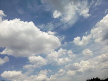 Естественное небо Стоковые Изображения