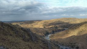 естественное река Стоковая Фотография RF