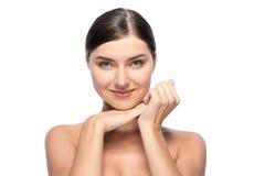 Естественное совершенство - красивая молодая женщина, Стоковое Изображение