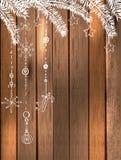 Естественное украшение для красивого дизайна праздника Стоковые Изображения RF