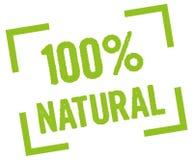 100 естественное Стоковая Фотография RF
