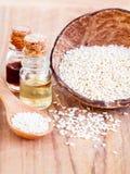 Естественное ingrediente курорта для Scrub и заботы кожи Стоковое Изображение