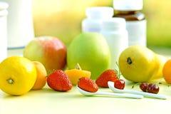 Естественное vitavini на здоровая жизнь Стоковые Изображения RF