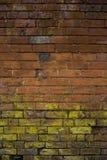 Естественно сделанная по образцу кирпичная стена Стоковая Фотография RF