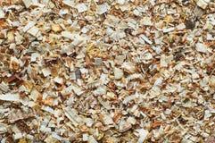 Естественные деревянные щепки Стоковые Изображения