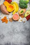 Естественные источники еды калия стоковые фотографии rf