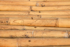 Естественные коричневые стога бамбука Стоковое Изображение