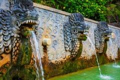 Естественный воздух Panas Banjar курорта горячего источника на Бали стоковая фотография rf