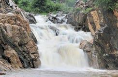 естественный водопад Стоковые Изображения RF