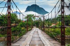 Естественный в Лаосе Стоковое Изображение