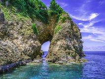Естественный город Таиланд rayong острова talu Koh clifff отверстия стоковые фотографии rf