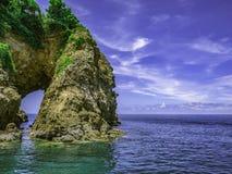 Естественный город Таиланд rayong острова talu Koh clifff отверстия стоковая фотография