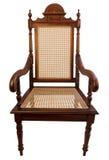 Естественный деревянный стул стоковые фотографии rf