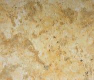 Естественный желтый мрамор. Стоковые Изображения RF
