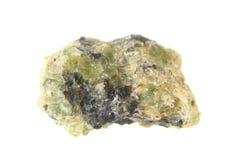 Естественный зеленый peridot стоковая фотография rf