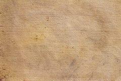 Естественный дизайн ткани холста коричневого цвета текстуры мешка бесплатная иллюстрация