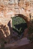 Естественный каменный мост Стоковые Изображения RF