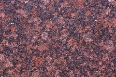 Естественный камень красного цвета, красного цвета Balmoral гранита Стоковое Фото