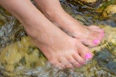 Естественный курорт ноги Стоковые Изображения