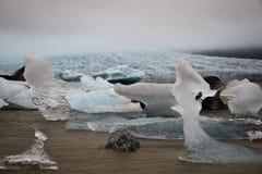 Естественный лед Scultpures Стоковое фото RF