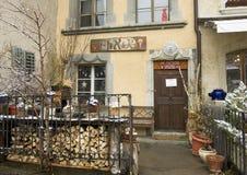 Естественный магазин мыла, Gruyeres, Швейцария Стоковая Фотография RF